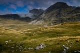 Todorov Do 1820m with Prutas 2393m behind, Durmitor NP