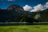Black Lake (Crno Jezero) 1416m, Mali Meded 2223m behind, Durmitor NP