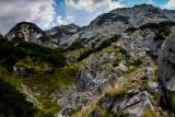 Alex, eastern ascent to Obla Glava 2303m, Durmitor NP