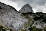 Obla Glava 2303m from the eastern ascent, Durmitor NP