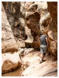 Brad in Short Canyon