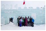 The 2014 ice castle in Saranac Lake