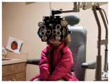 Eye check up - glasses likely in a year
