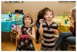 Norah and Molly at a birthday party