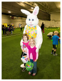 Photo op with the Easter Bunny
