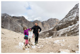 Steve and Norah at Passo d'Antermoia