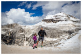 Steve and Norah and Piz Boe - quite a day!