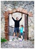 Exploring around the Roman theater