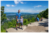 Steve and Norah on Mt. Beacon