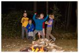 Campfire talent show