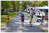 Campsite races
