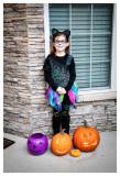Norah ready for Halloween