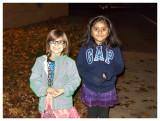 Norah and Dixita at the band concert