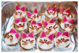 Birthday cupcakes - cats of course