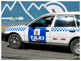 One of many taxis