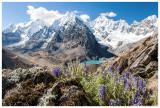 The gorgeous Cordillera Huayhuash