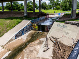 Graffiti Along the Canal in Wichita