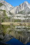 707 2 Yosemite Cooks Meadow Yosemite Falls Reflection 2.jpg