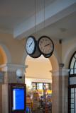 Railroad Station Clock