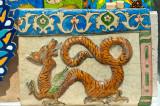 Dragon On Persian Tile