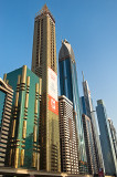 Skyscrapers  Along Sheikh Zayed Road