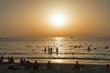Jumeirah Beach At Sunset