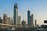Driving In Downtown Dubai