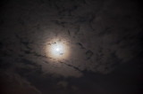Clouds And Full Moon