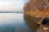 Fall At Wisla River