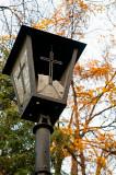 Broken Cemetery Lantern