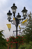 Lantern With Flags