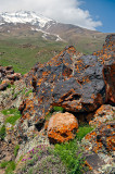Rocks Along Mt. Damavand Trail