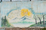 Alborz Mountains Painted On The Wall