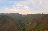 Ira Village And Alborz Mountains