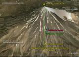 Damavand Camp3 - Summit Ascent And Descent Routes