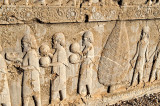 The Apadana Stone Relief - The Greeks