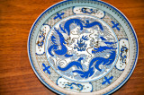 Blue Dragons On The Plate