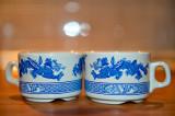 Twin Blue Dragons