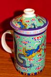 Chinese Dragon On The Mug