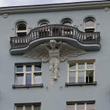 Angel Supporting The Balcony