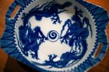 Ink Blue Dragons
