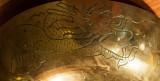 Brass Bowl Dragon