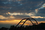 Sunset And Arches