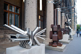 Modern Art In Front Of MUSA