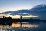 Sunset On Donau River
