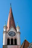 Alt Ottakring Church Clock