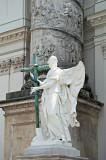 Karlskirche - Angel At The Entrance