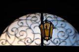 Lantern In The Ornamented Window