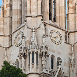 Clocks On Votive Church