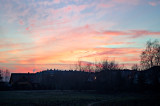 Cold December Sunset